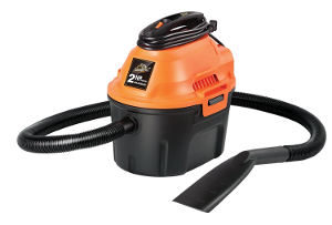 Armor All 2.5 Gallon, 2 Peak HP, Utility WetDry Vacuum