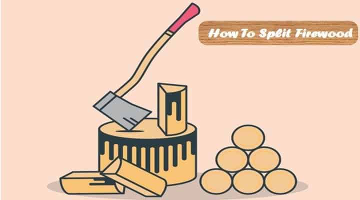 How to Split Firewood[Tips and Tricks]