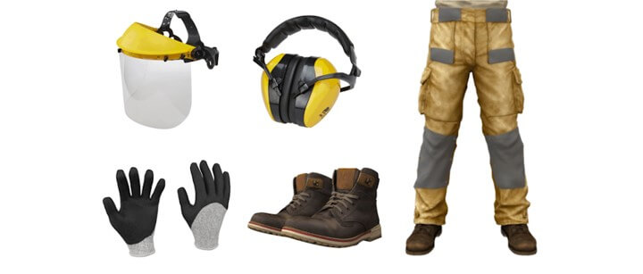 Safety equipment to Use Edger