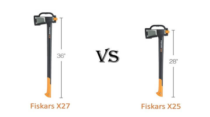 Fiskars X27 vs X25: The Hands-on Comparision