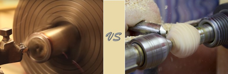 Comparison between Metal Lathe and Wood Lathe