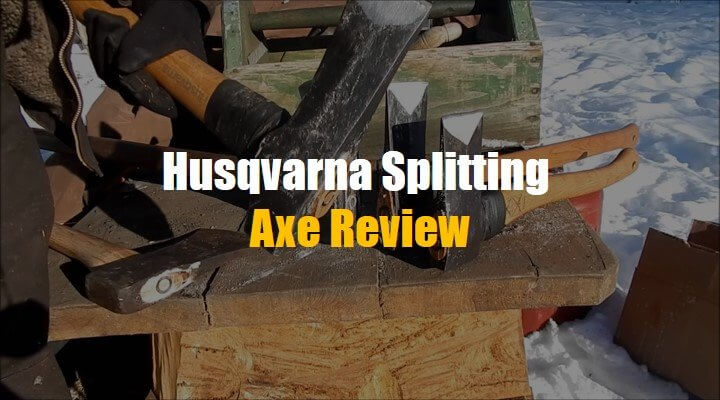 Husqvarna Wooden & Composite Splitting Axe Review